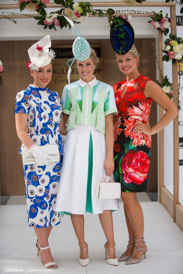 Winner and Runner up at the Chadstone Fashion Stakes 2014 - Caulfield Cup