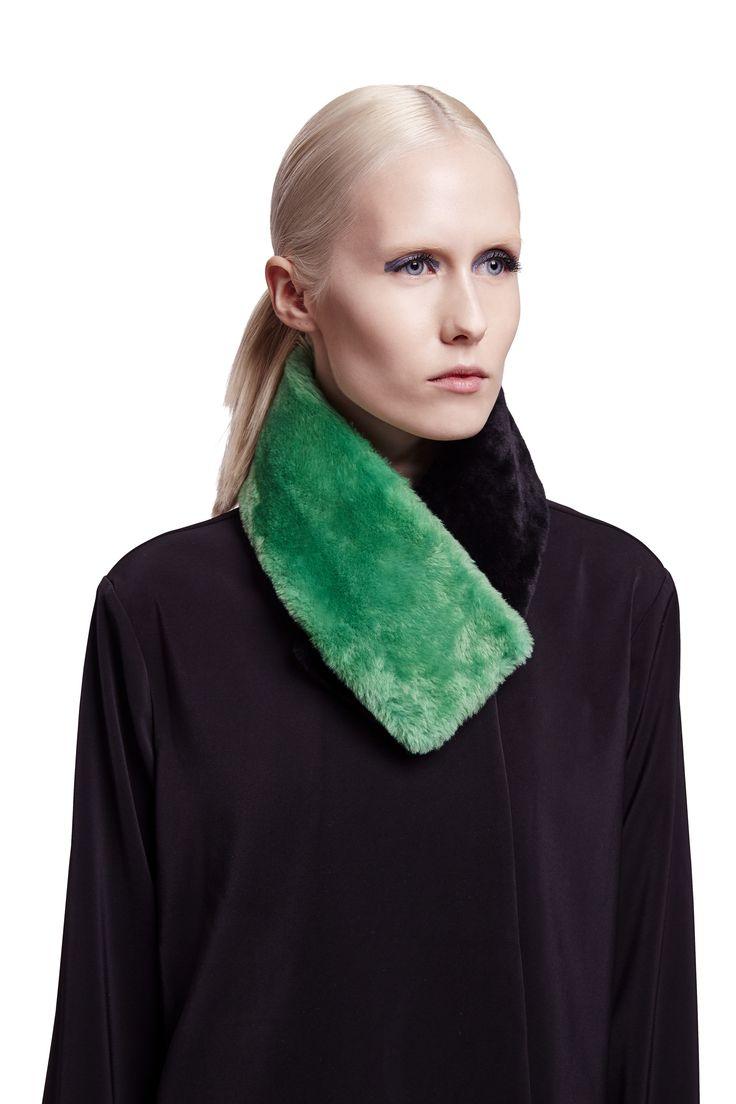 ONAR Ofra collar in green & black