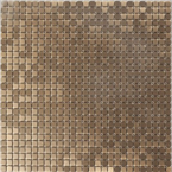 Dell'Arte - mozaiki dekoracyjne Brushed Copper 10 (plaster 30x30)