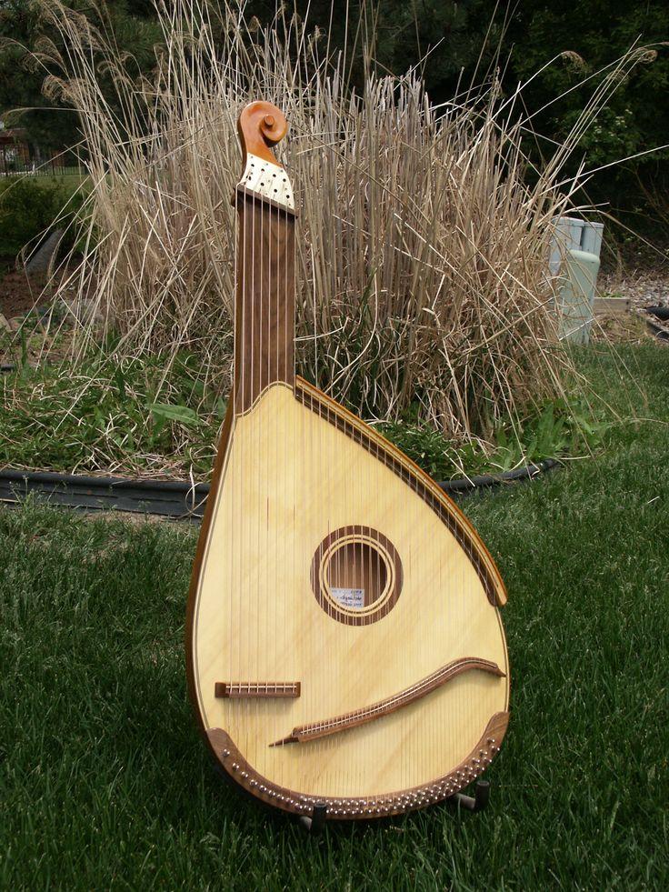 Bandura, the national instrument of Ukraine