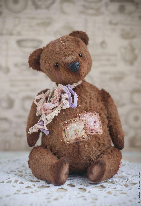 Купить Французская булочка Шарлотта. - коричневый, шоколад, шоколадный цвет, мишка, мишки тедди