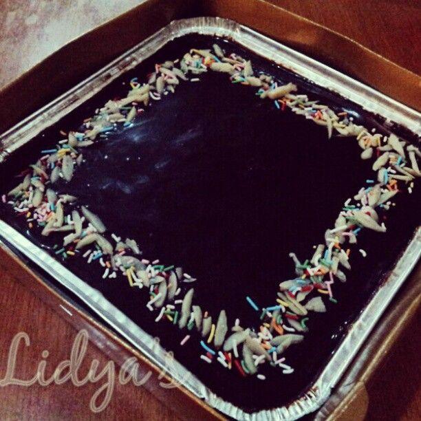 Chocolate Klappertaart  by lidyaop