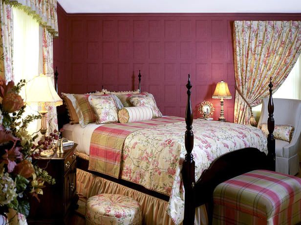 english country garden bedroom