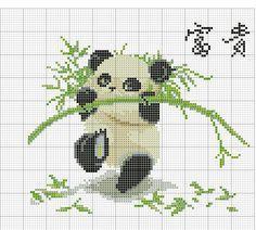 Kreuzstich Panda