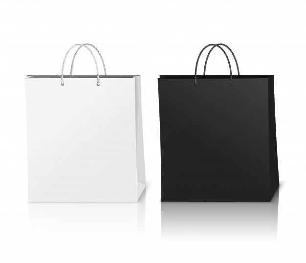 Download Download Shopping Bags Mockup Realistic For Free Bag Mockup Free Packaging Mockup Typographic Logo Design