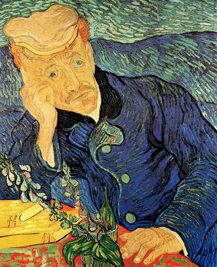 Dr. Paul Gachet, 1890 Vincent van Gogh