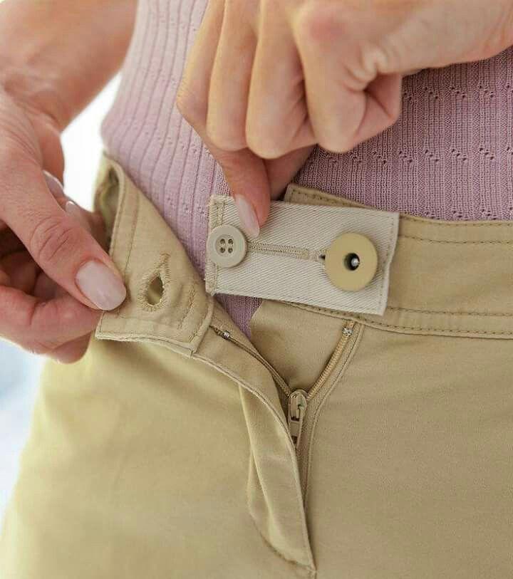 Agrandar la cintura de un pantalón