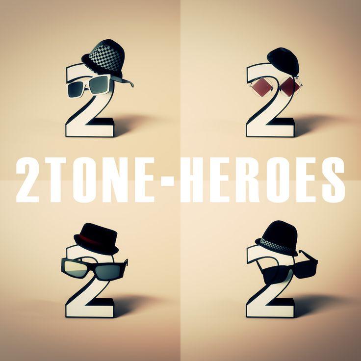 2TONE-HEROES.SKA SKA SKA.Cinema 4D.