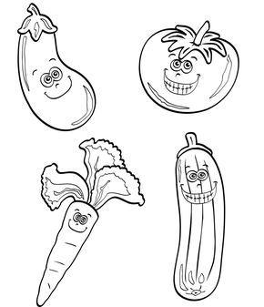 Ausmalbild Obst Und Gemuse Kostenlose Malvorlage Verschiedenes Gemuse Kostenlose Ausmalbilder Ausmalen Obst Und Gemuse