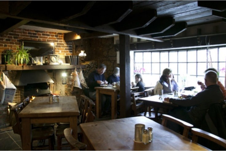 The Taveners, Godshill, Isle of Wight.    Amazing Sunday lunches - don't leave without trying their three times cooked fries.