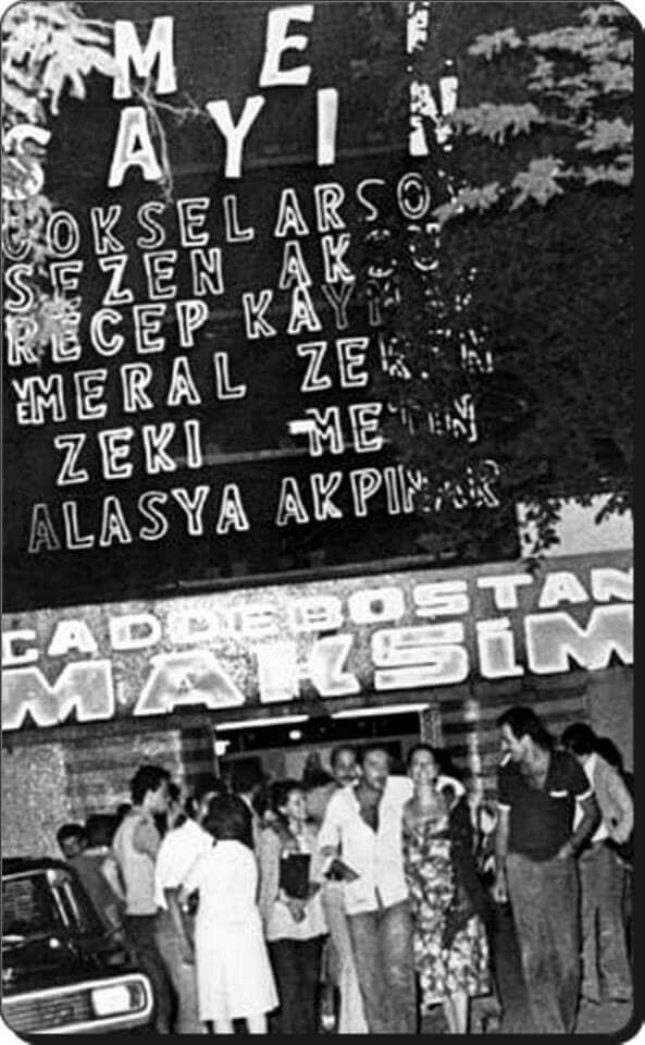 Maksim Gazinosu, 1981