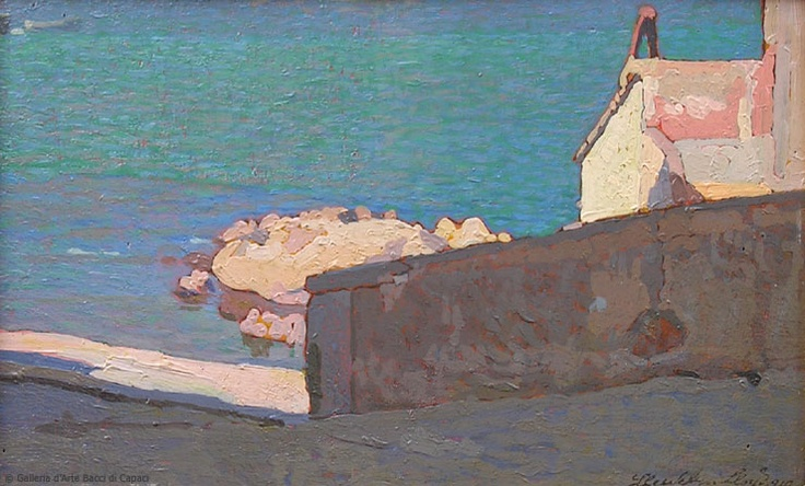 Llewelyn Lloyd, Marciana Marina, 1919