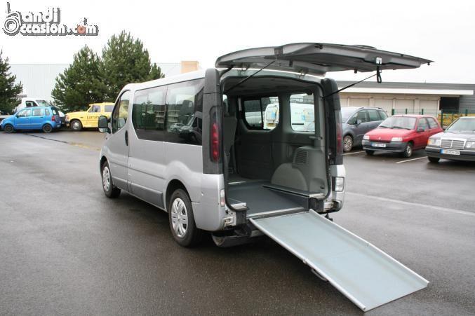 minibus renault trafic tpmr