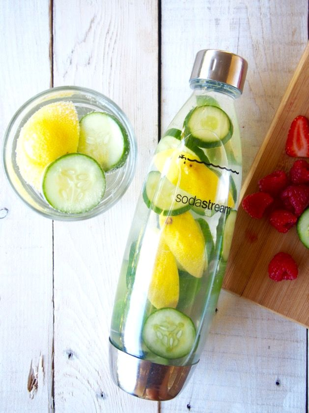 Struggling to drink enough water? Or still addicted to Diet Coke? Time to embrace infused water! It's easy, delicious and super good for you!