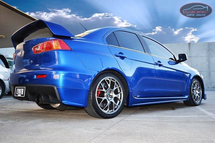 Club Spec Custom Designs. #NickDragarski is the Mitsubishi king!