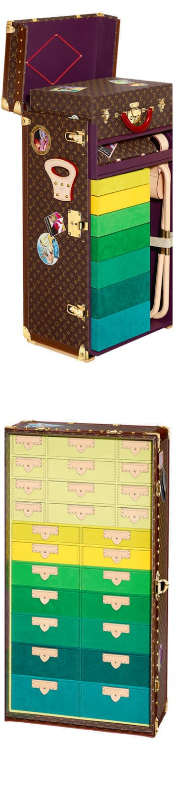 LOOKandLOVEwithLOLO~ Louis Vuitton Icon and Iconoclasts Collection. Studio In A Trunk Cindy Sherman