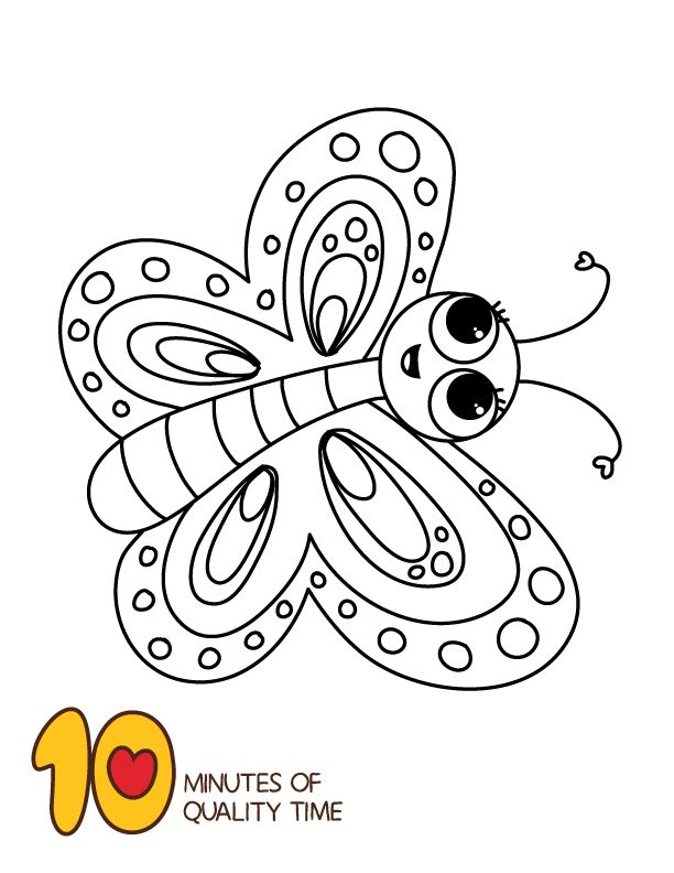 Butterfly Coloring Page - Animal Coloring Pages ...