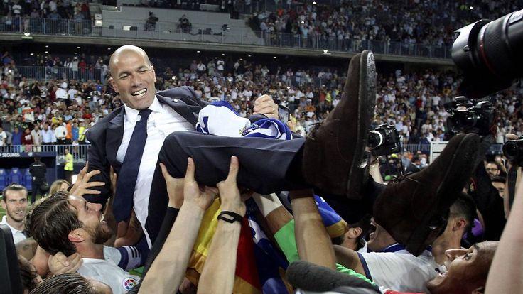 Meistertitel vergeben: So feiern Europas Fußball-Champions