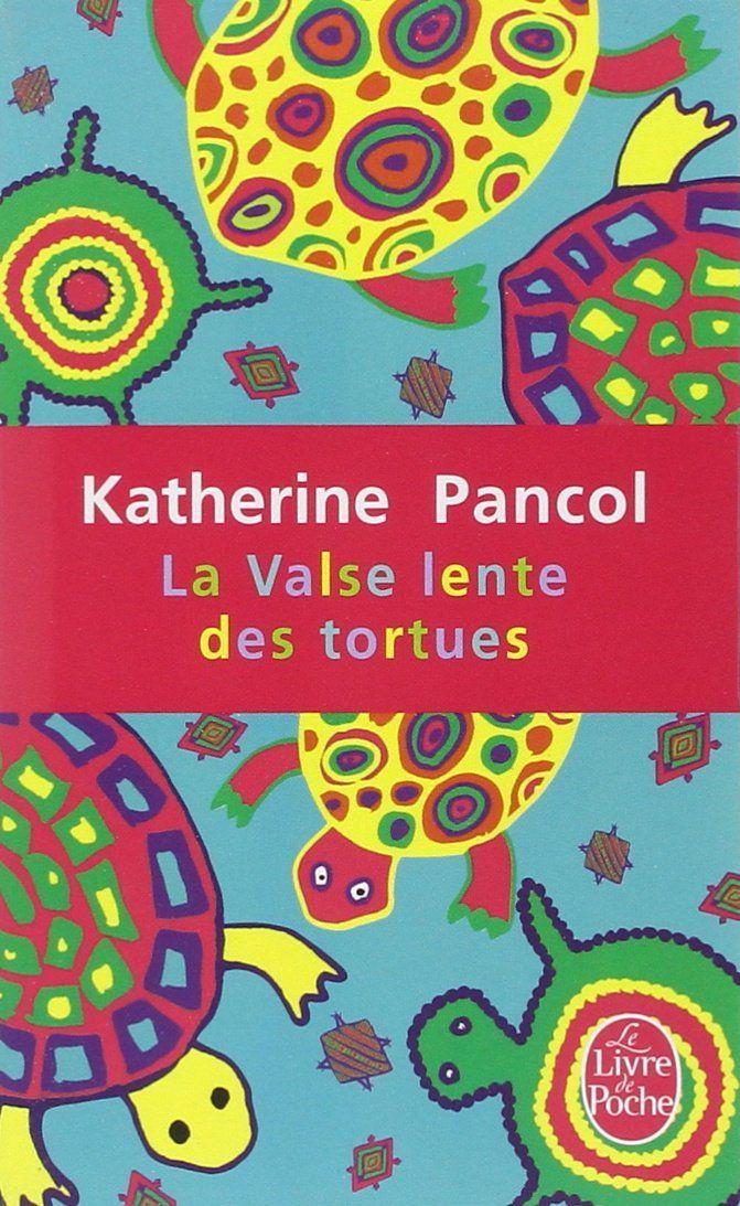 """La Valse lente des tortues - Katherine Pancol """"Des personnages qui avancent obstinément... comme des petites tortues entêtées... qui apprendraient à danser lentement, lentement... dans un monde trop rapide, trop violent... """" http://petitlien.fr/7l86"""