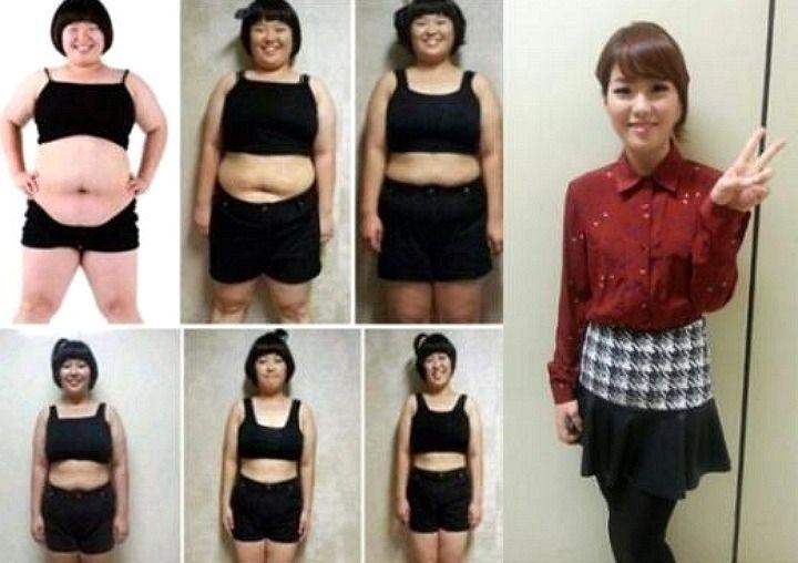 Корейские девушки как похудеть