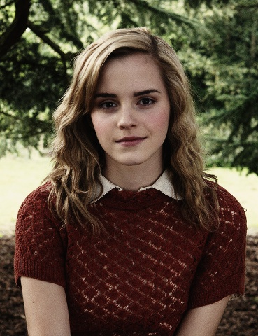 Emma Watson from the Harry Potter movies, she is absolutely a dream come true for all of her fans...