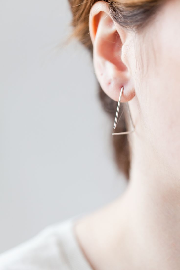 earring - luba - Anna Lawsja Jewelery / collection - back to basic - / photo - PION