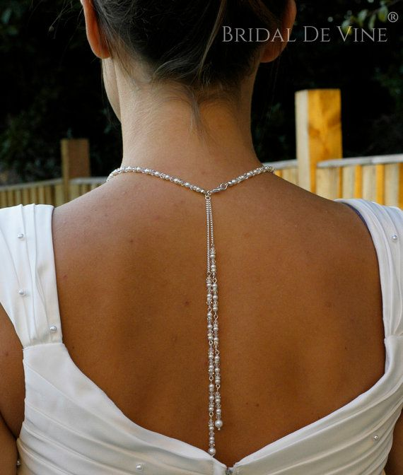 Carolyn  Double Backdrop Jewellery Set    Perfect for weddings, Proms or any special occasion    Using 4mm Swarovski Pearls, crystals and diamante