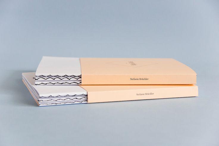 Printed Portfolio | book binding