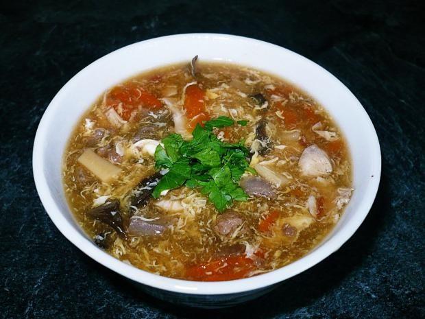 Ostrokyslá čínska polievka - Báječné recepty