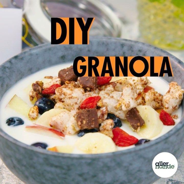 574 vind-ik-leuks, 50 reacties - @allerhande op Instagram: 'Granola goodness! ❤️Je eigen ontbijtgranen van rijstwafels en de nieuwe Delicata repen van…'