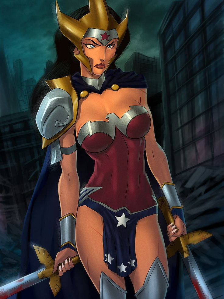 Flashpoint Wonder Woman Armored Up By Sunsetriders7 -2927