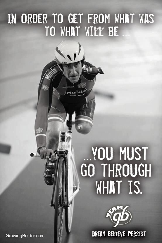 Dream. Believe. Persist. #quotes #motivation #cycling