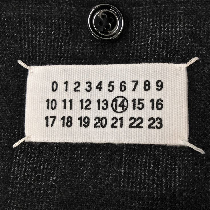 """""""What most people consider as our logo – the four stitches in the back with the white label inside the garment – had in fact the opposite purpose: it was meant to be cut off so the garment would be without a label and logo!  Martin Margiela  via Third Looks Margiela Reference Guide"""