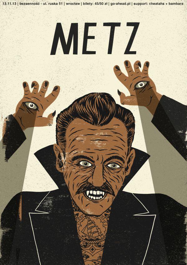 metz | poster by Dawid Ryski, via Behance