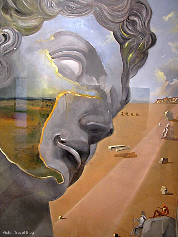 surrealism in leda atomica painted by salvador dali Salvador dali - leda atomica leda and the swan paint by the spanish artist salvador dali (1904-1989) - dali theatre-museum figueres (spain)  painting surrealism.