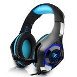 #9: DIZA100 PS4 Gaming Headset with Microphone for PlayStation 4 Xbox onePC-Blue