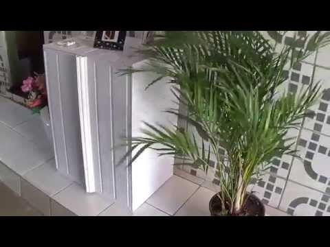 PVC PASSO A PASSO: CÔMODA FEITA DE PLACAS DE PVC, PASSO A PASSO