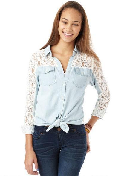 New Clothes from Delias, Gilly Hicks, Hollister, Abercrombie or American Eagle