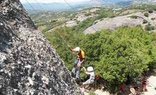 Climbing holiday in Greece, Family adventure holiday in Greece