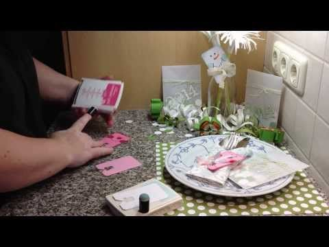 Silvester-Dekoration-Video - Heikes Kartenwerkstatt