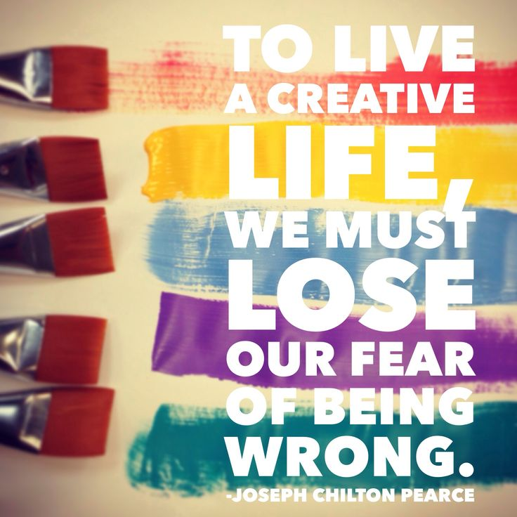My new outlook on life...i need to stop stifling my own artistic growth #creativity #quotes