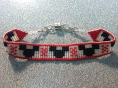 Mickey Mouse Beaded Bracelet on Etsy, $25.00