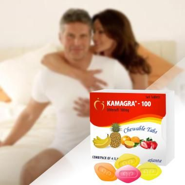 Kamagra Soft Tabs 100mg mix with high effective sildenafil citrate elements that is clinically tested, completely side effects free erectile dysfunction tablets. the medicines are a simple solution for providing men with harder erection that can stay for a longer period of time.