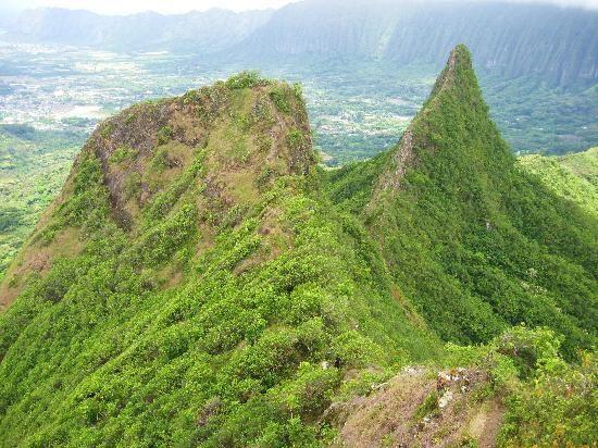 Oahu - Olomana Three Peaks Trail