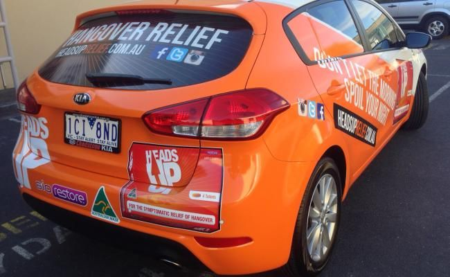 We use high quality car wrap film to give a long life. We also can laminate car wrap film for extra strength.