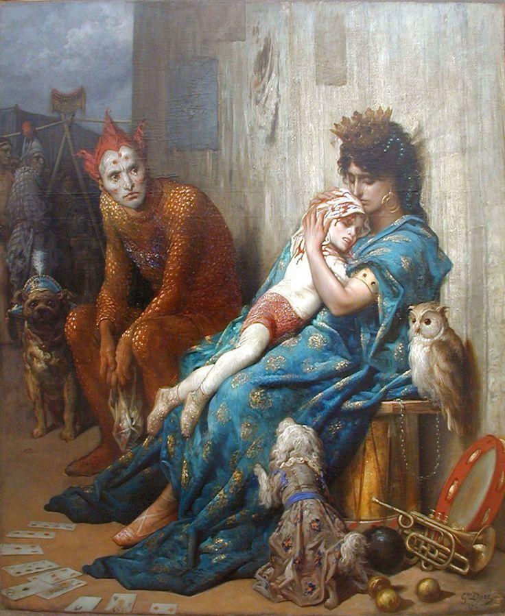 Gustave Doré, Les saltimbanques,