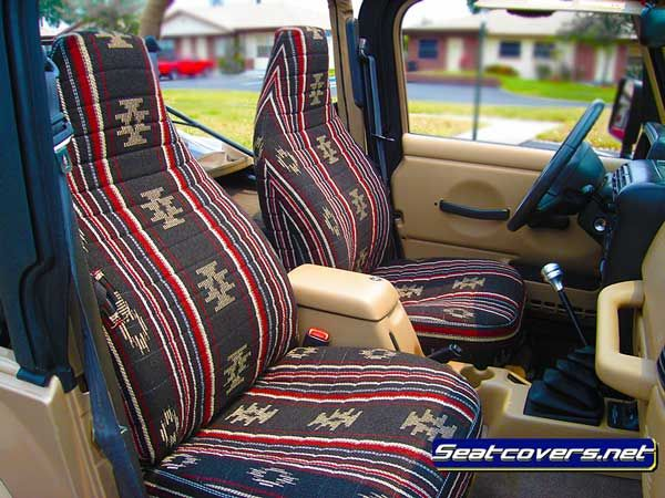 Aztec jeep seat covers
