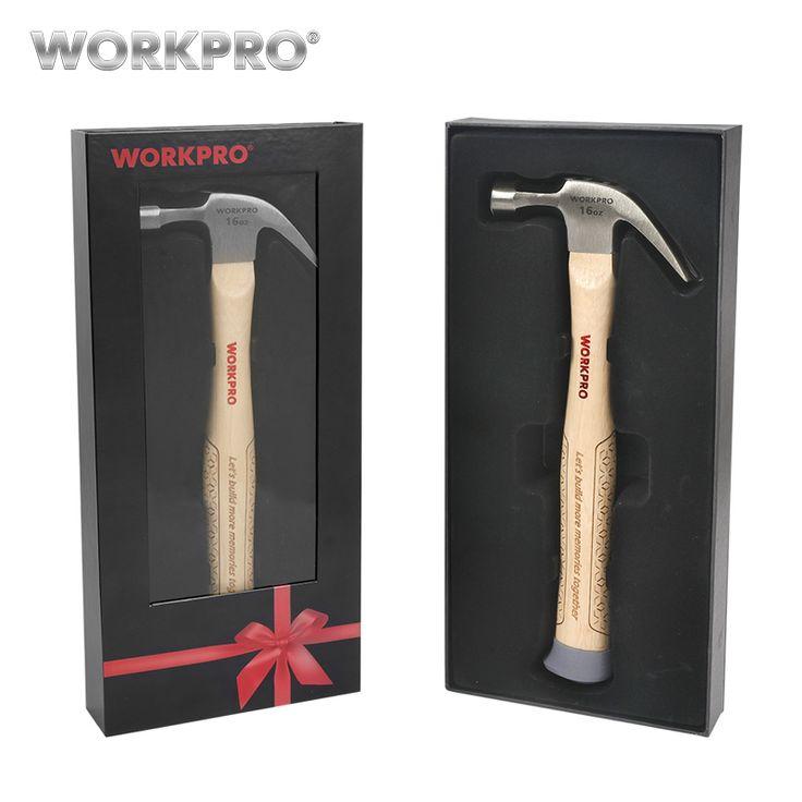 Workpro 16 унц. изогнутый коготь Молотки с деревянной ручкой отец подарок Молоткикупить в магазине WORKPRO official storeнаAliExpress