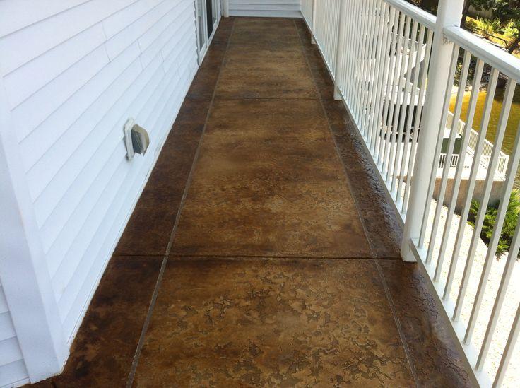 Decorative Concrete Base : Best images about decorative concrete overlay flooring