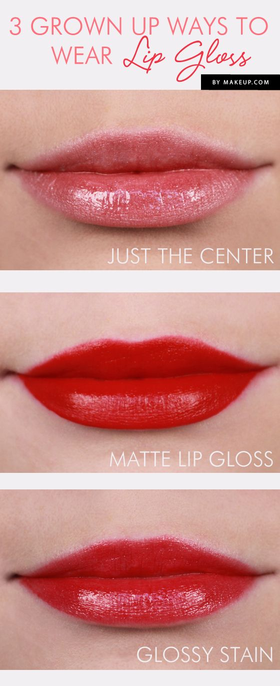 3 Grown Up Ways to Wear Lip Gloss // so pretty!